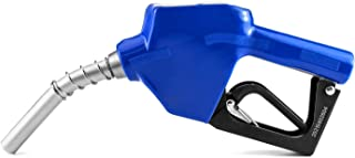 QWROK 3/4 英寸(约 1.9 厘米)自动燃油喷嘴自动关机汽油喷嘴,用于汽油柴油燃料补充,蓝色