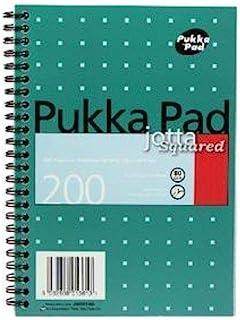 pukka Pad 羊皮紙紙張 A4螺旋裝訂筆記本 , 80 gsm 線條和邊緣120頁 Originalverpackung Einzelpackung