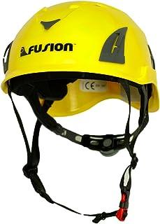 Fusion Climb Meka II 攀岩弹力弹力十足山*保护头盔,黄色/黑色