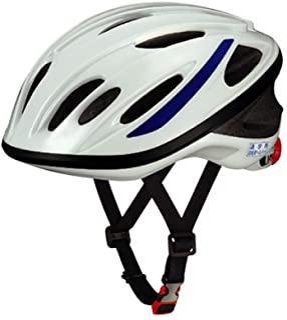 OGK KABUTO 上学用头盔 SN-11 白色 带蓝带 尺寸:57-60cm