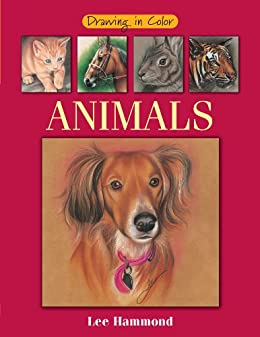 """Drawing in Color - Animals (English Edition)"",作者:[Lee Hammond]"