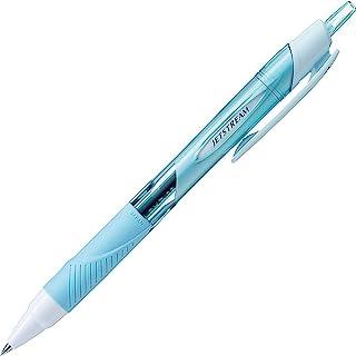 三菱铅笔 油性圆珠笔 JET STREAM 0.38 SXN15038 天蓝色 10根