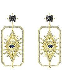 SWAROVSKI TAROT 魔法穿孔耳环,多色,镀金