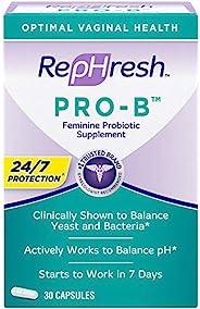 RepHresh Pro-B 益生菌 女性补充剂,30粒
