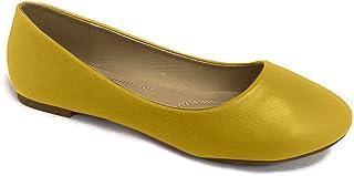 BELLA marie stacy-12女式圆头懒人芭蕾平底鞋