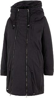 Mamalicious 女式 TIKKA CARRY ME 衬垫夹克长袖孕妇外套 黑色 40 (Manufacturer size: Large)