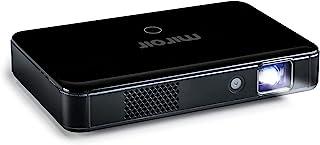 Miroir HD Pro 投影仪 M220 浪涌系列 LED 灯内置可充电电池 720p 分辨率 HDMI 和 USB-C 输入