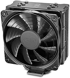 DEEPCOOL GAMMAXX GTE V2 黑色 CPU 空气冷却器,带 4 个热管,120 毫米 PWM 风扇和黑色阳极氧化散热器,适用于 Intel LGA 1200 1151 2011 AMD Ryzen AM4