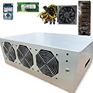 BitcoinMerch.com - Ready-to-Mine 110V-1200W 220V-1600W 8 GPU 挖矿机带主板 + CPU + RAM + SSD + PSU