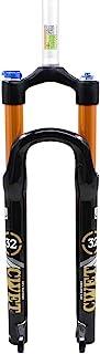 DFS 1.55 千克气叉Civet 系列悬架 MTB 山地自行车叉子 适用于自行车 27.5/26 英寸 29 英寸 QR 9X100 遥控锁手动锁