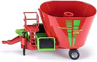 SIKU Futtermischwagen Rot Anhänger 2450 1/32 Modell Auto oder ohne individiuellem Wunschkennzeichen 3+ Years Ohne Wunschke...