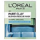 prime会员!L'OREAL PARIS 巴黎欧莱雅 Pure Clay 矿物泥排毒面膜50ml 48.05