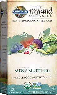 Garden of Life Kind Organics男性复合维生素片 120 120