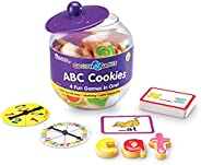 Learning Resources Goodie Games ABC Cookies 卡片,1个中包含4个游戏,字母,预读,拼音,适合年龄3+的人群