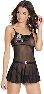 Coquette Police 娃娃装, O/S, Black, 17 ml
