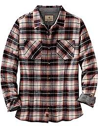 Legendary Whitetails 女式 Cottage Escape 长袖系扣法兰绒衬衫