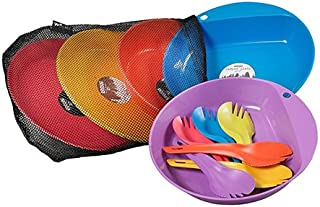 Wildo 露营/户外吃饭套装适合 6 人,各种颜色