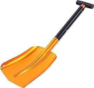 Oumij1 雪铲 光滑舒适 手感 易于使用/操作 铲子 小号 轻便工具 适合野野营驾驶