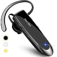 蓝牙耳机无线耳机 New Bee 24 小时免提驾驶耳机 60 天待机时间带降噪麦克风耳机外壳适用于 iPhone An…