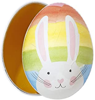 会说话的桌子兔子复活节彩蛋礼盒尺寸:18 厘米 x 13.3 厘米,彩虹 05