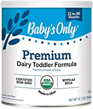Baby's Only Organic Dairy with DHA 76.2 Ounce (Pack o