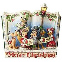 Enesco Disney Traditions by Jim Shore 故事书圣诞颂歌