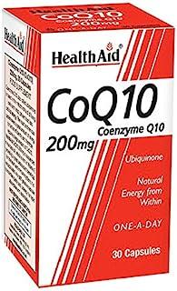 HealthAid CoQ-10 200mg - Coenzyme Q10 - 30 Capsules