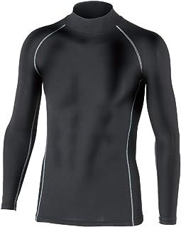 OTAFUKU 手套 BOTTEF NESS 保暖 压缩 强力弹力 长袖 高领衬衫 JW-170 黑色 LL