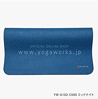 Yogaworks瑜伽垫6mm 午夜 YW-A102-C080