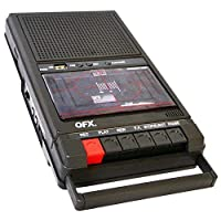 QFX RETRO-39 鞋盒式錄音機,帶USB播放器
