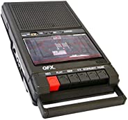 QFX RETRO-39 鞋盒式录音机,带USB播放器