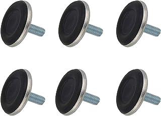 SUKRAGRAHA 家具矫正器支脚可调式家具脚 5.08 厘米底座直径 M10 x 20 毫米 6 件