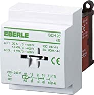 Eberle Controls 049095140000 安装保护 ISCH 20-4 S(无噪音,我直流,依次类型ISCH30-4 S,20 A,4 S,AC 230 V)