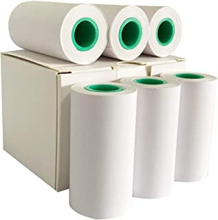 Paperange Peripage 热纸 6 件 57 毫米 x 30 毫米 10 年 不含双酚A 便携式热敏打印机口袋蓝牙迷你热敏打印机白色 非粘性