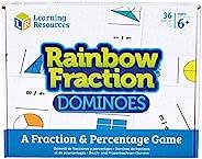 Learning Resources 彩虹分数多米诺骨牌