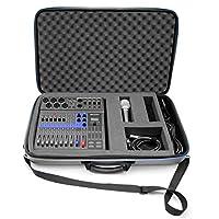Casematix 便携式工作室保护套兼容变焦Podcast 数字搅拌机 Livetrak L8 录音机和配件,只包括携带包