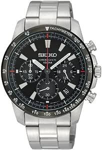 SEIKO 精工 计时码表男士手表 海外款 SSB031PC