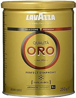 Lavazza Qualità Oro 研磨咖啡,1件装(1 x 250g罐)