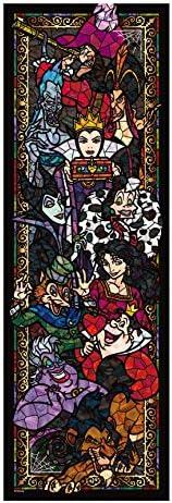 456片 拼图 迪士尼 维兰斯 彩绘玻璃 紧密系列 【彩绘艺术】(18.5x55.5cm)