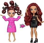 Failfix - Loves.Glam Total Makeover 娃娃套装 | 8.5 英寸时尚娃娃 | 从头到脚的完全转换