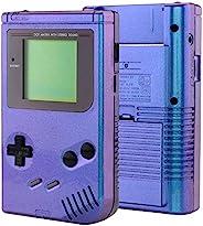 eXtremeRate 变色龙紫色蓝色外壳替换全外壳外壳外壳适用于Gameboy Classic 1989 GB DMG-01 控制台,带屏幕镜头和按钮套件 - 不包括手持游戏机