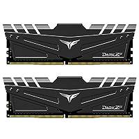 TEAMSDM T-Force Dark Z DDR4 桌面内存条TDZAD432G3600HC18JDC01 3600MHz for AMD 32GB (2x16GB)