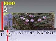 Editions Ricordi 0802N14741 - Black Monet Water Lilies 1000 片拼图