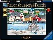 Ravensburger 加拿大漁夫系列加拿大 1000 塊成人兒童*拼圖 - 每塊產品都*,Softclick 技術意味著拼圖完美貼合在一起