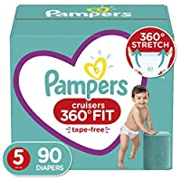 Pampers 幫寶適 Cruisers 360° Fit 一次性嬰兒尿布 Size 5 (90 Count)