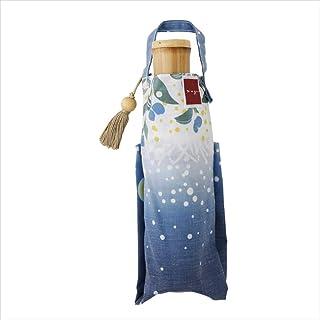 小川(Ogawa) 折叠伞 女士 轻便 204克 伞 UV 90% 以上 6根伞骨 50厘米 细长 nugoo 擦拭 防水 手开 带安全罩 包型 附袋 89106