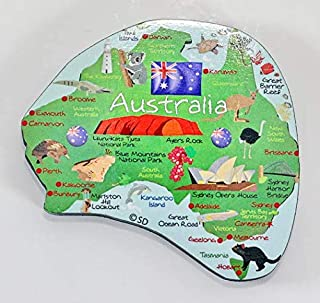 Australia Decowood 大号木质磁铁