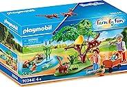 Playmobil 70344 家庭乐趣红色熊猫栖息地