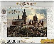 AQUARIUS 哈利·波特拼图霍格沃茨城堡拼图(3000片)-官方许可的哈利·波特商品与收藏品-无眩光-精确安装-几乎没有拼图尘-32 x 45英寸(约81.28厘米 x 1.14米)