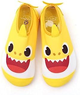 JA Babyshark 尾部幼儿游泳水鞋速干防滑水皮肤赤脚运动鞋水袜适合男孩女孩幼儿